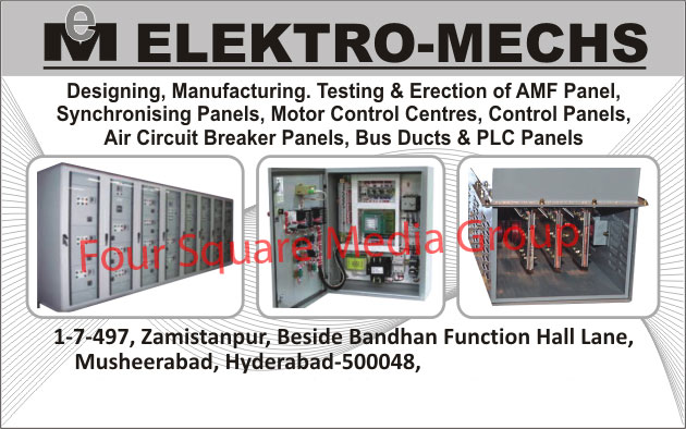 Amf Panel, Synchronising Panels, Motor Control Centres, Control Panels, Air Circuit Breaker Panels, Bus Ducts, Plc Panels,