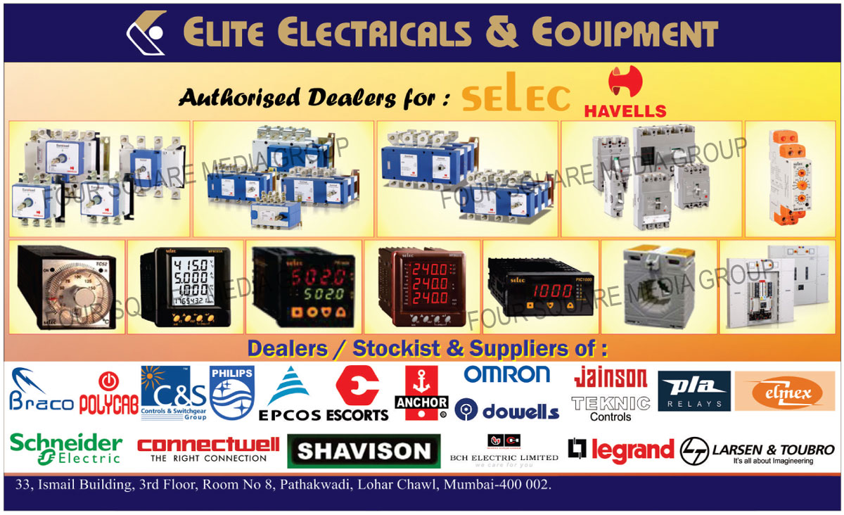 Multifunction Meters, Energy Meters, VAF Meters, Voltmeters, Ammeters, Frequency Meters, Power Factor Meters, Mini PLC, Earth Leakage Protection Relays, Phase Sequence Protection Relays, Voltage Protection Relays, Current Protection Relays, Temperature Controllers, Process Indicators, Din Rail Timers, Digital Timers, Plug/Panel Mounted Timers, Dual Display Multifunction Timers, Sequential Timers, Digital Totalisers, SPCT Transformers, PID Temperature Controllers, Building Circuit Protections, Time Switch, Metalica Distribution Boards, ACCL, Utility Distribution Boards, Designer Distribution Boards, Special Application Distribution Boards, MCB, Isolators, Changeover Switches, Change over Switches, Residual Current Circuit Breakers, RCCB, RCBO, Industrial Switchgears