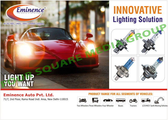 Automotive Bulbs Relays Wiring Harness Fuse Box Eminence Auto Pvt Ltd
