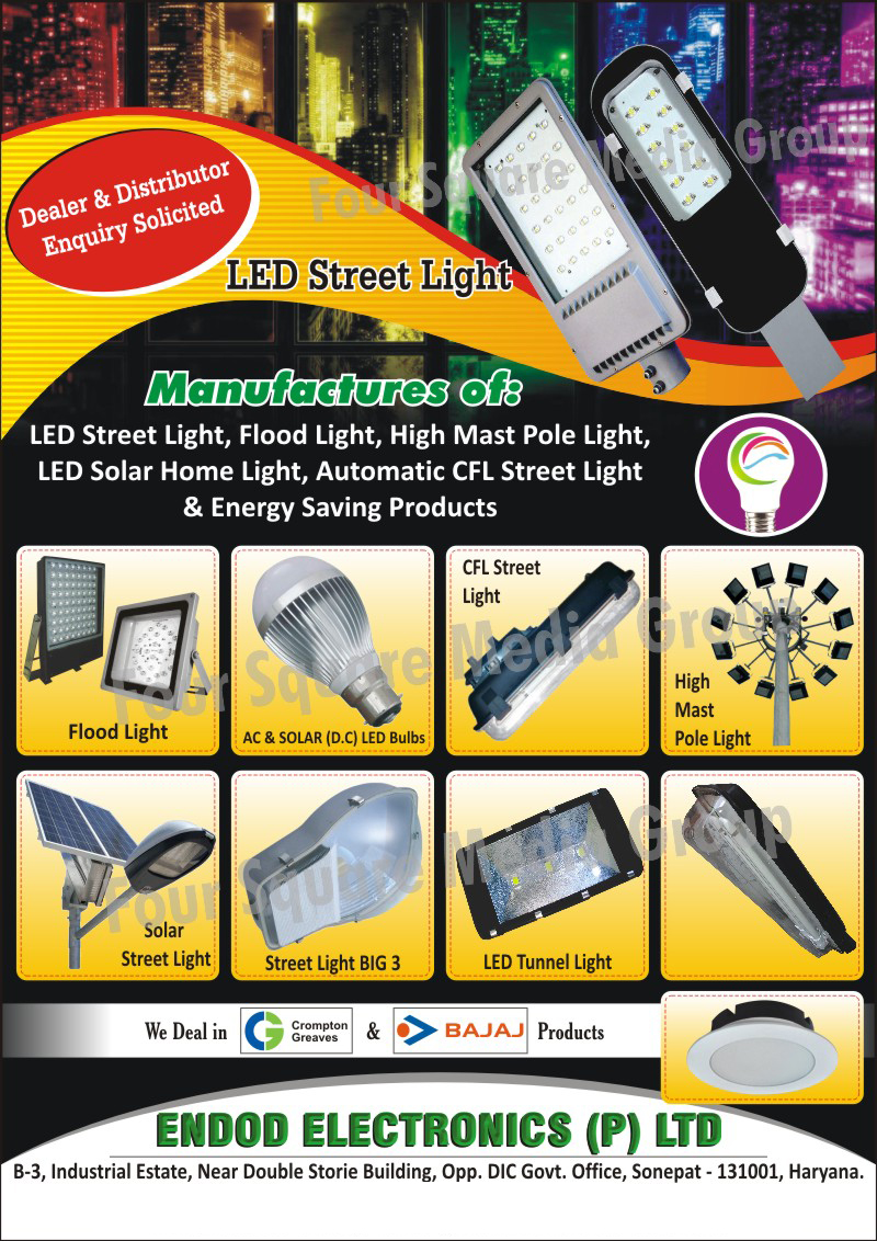Led Lights, Led Street Lights, Led Flood Lights, Led Tunnel Lights, High Mast Pole Lights, Street Lights, Solar Street Lights, Led Solar Home Lights, Automatic Cfl Street Lights, Solar Led Bulbs, Energy Saving Products, AC Solar Led Bulbs, DC Solar Led Bulbs, Multi Led Flood Lights, Led Tube Lights, Led Down Lights, Sodium Lights, Led Focus Lights,