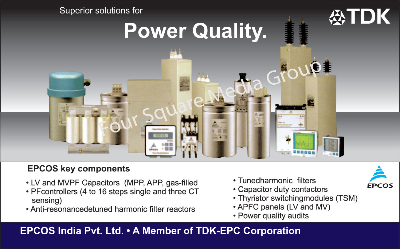 LV Capacitors, MV PFC Capacitors, PF Panels, APFC Relay, Detuned Anti Resonance Harmonic Filter Reactors, Tuned Harmonic Filters, Thyristor Switching Module, Power Analysers, Multi Functional Meters, LV APFC Panels, MV APFC Panels, PF Controllers,Electrical Panels, Electrical Products, APFC Panels, LV Panels, MV Panels, Meters, Multi Function Meters, PF Controllers, APFC Relay Controllers, Power Analysers, Thyristor Switching Module, Capacitors, Detuned Anti Resonance Harmonic Filter Reactors, Tuned Harmonic Filters, Capacitor Duty Contactors, Power Analysers Meters, Power Multi Functional Meters