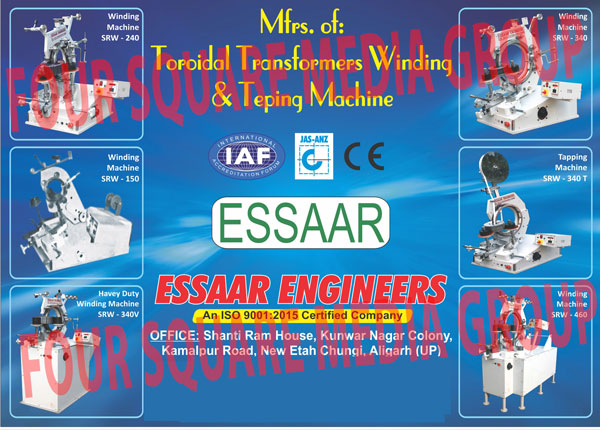 Toroidal Transformer Winding Machines, Toroidal Transformer Tapping Machines, Toroidal Coil Winding Machines, Winding Machines, Heavy Duty Winding Machines, Transformer Winding Machines, Transformer Teping Machines, Transformer Winding Machines