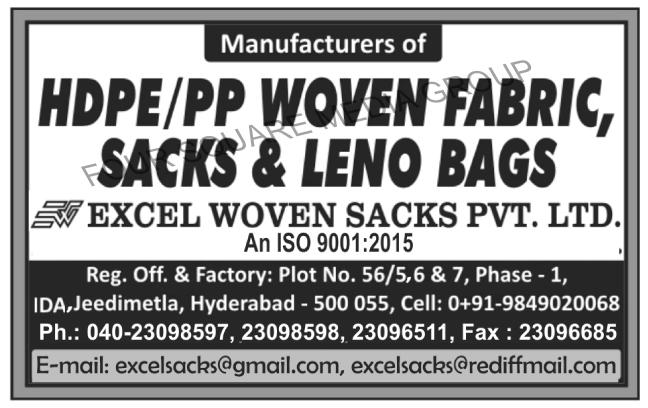 HDPE Woven Fabrics, PP Woven Fabrics, HDPE Woven Sacks, PP Woven Sacks, HDPE Leno Bags, PP Leno Bags, Leno Bags