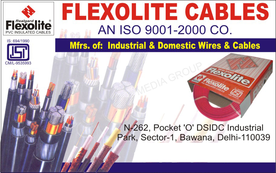 Industrial Wires, Industrial Cables, Domestic Wires, Domestic Cables