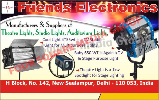 Theatre Lights, Studio Lights, Auditorium Lights, Stage Lights,Cool Lights, Lights, Event Lights, Spot Lights, Theater Stage Lights, Lights, Modular Dimmers, DMX Splitter, Sound Stages Spotlights