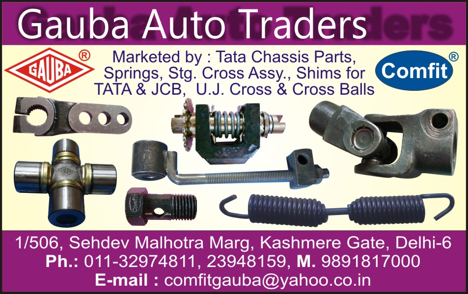Automotive Parts | Chassis Parts | Springs | Cross Assembly | JCB ...