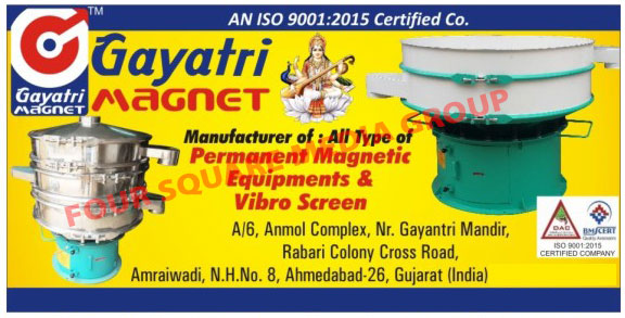 Gyroscreen, Permanent Magnetic Equipments, Vibro Screen,Magnetic Equipments