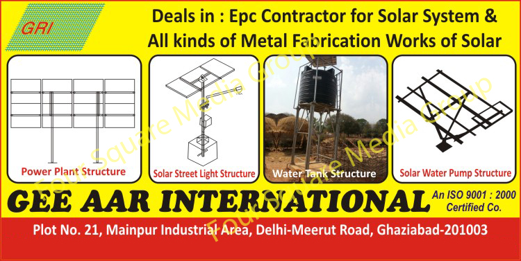 Solar System Epc Contractors, Solar Metal Fabrication Works