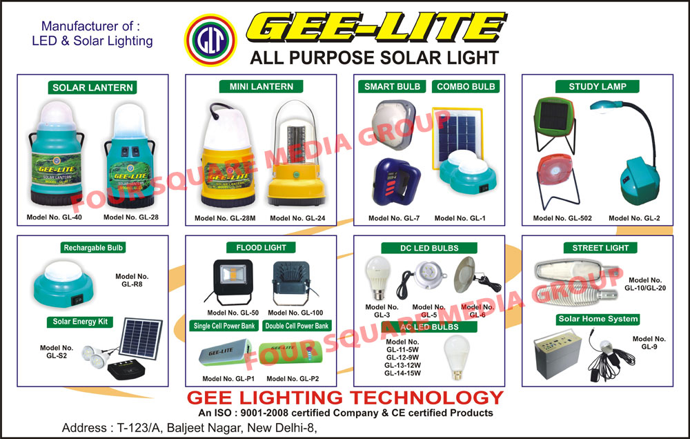 Solar Lights, Solar Lanterns, Study Lamps, DC Led Bulbs, AC Led Bulbs, Solar Led Street Lights, Solar Home Lights, Flood Lights, Single Cell Power Banks, Double Cell Power Banks, Solar Energy Kits, Rechargeable Bulbs, Led Lighting, Solar Lights, Solar Home Systems