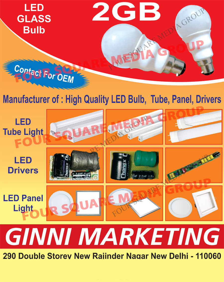 Led Bulbs, Led Tubes, Led Panels, Led Drives, Led Tube Lights, Led Panel Lights, Led Glass Bulbs, Led Drivers