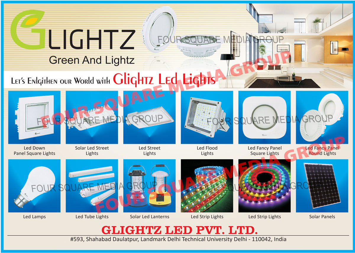 Led Lights, Led Down Panel Square Lights, Solar Led Street Lights, Led Street Lights, Led Flood Lights, Led Fancy Panel Square Lights, Led Fancy Panel Round Lights, Led Lamps, Led Tube Lights, Solar Led Lanterns, Led Strip Lights, Solar Panels