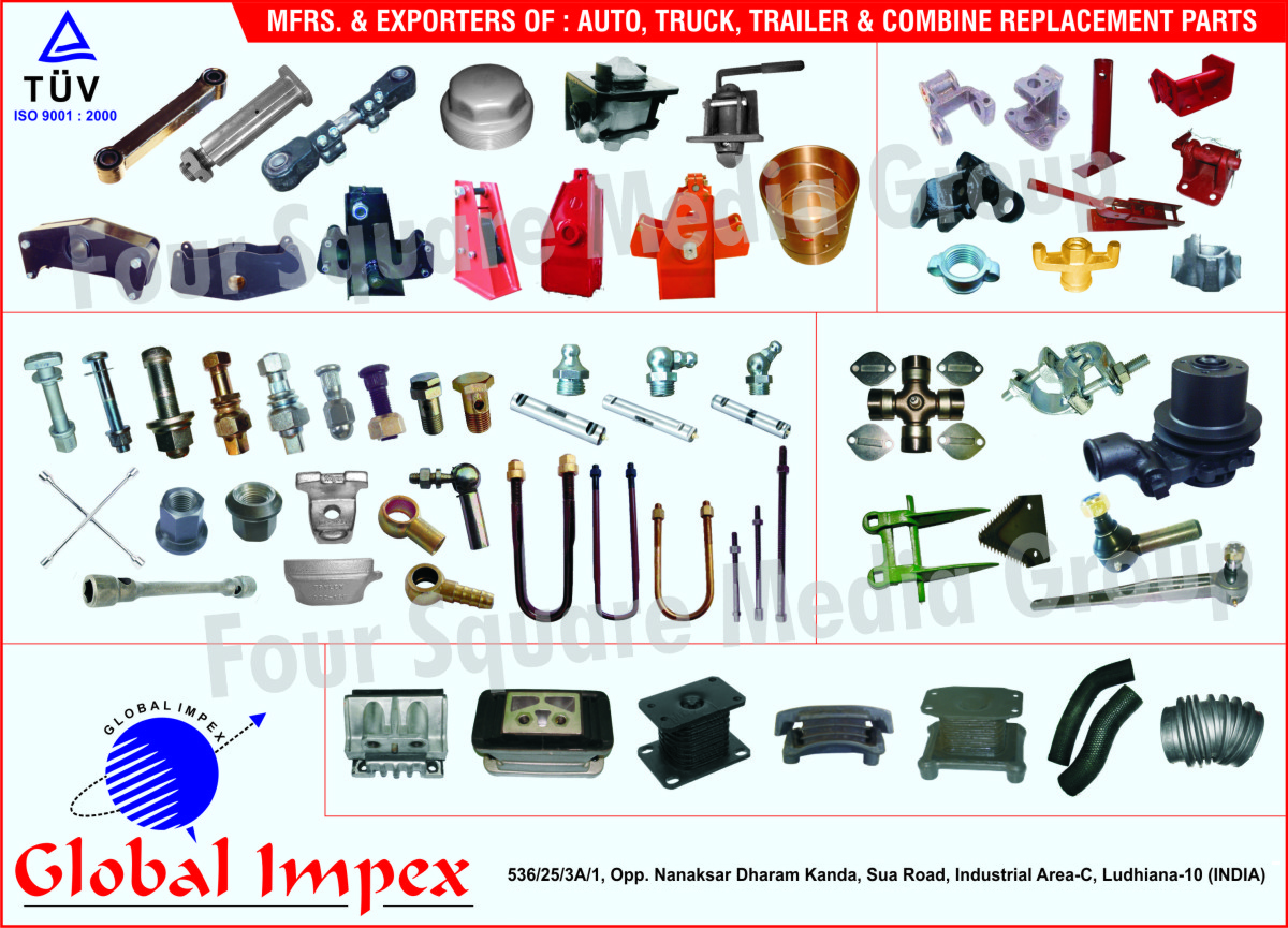 Global Impex, Ludhiana, Manufacturer of - Auto Replacement Parts ...