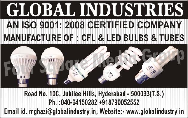 CFL Bulbs, Led Lights, LED Bulbs, Led Tube Lights, Led Street Lights, Led Down Lights, Led Downlights