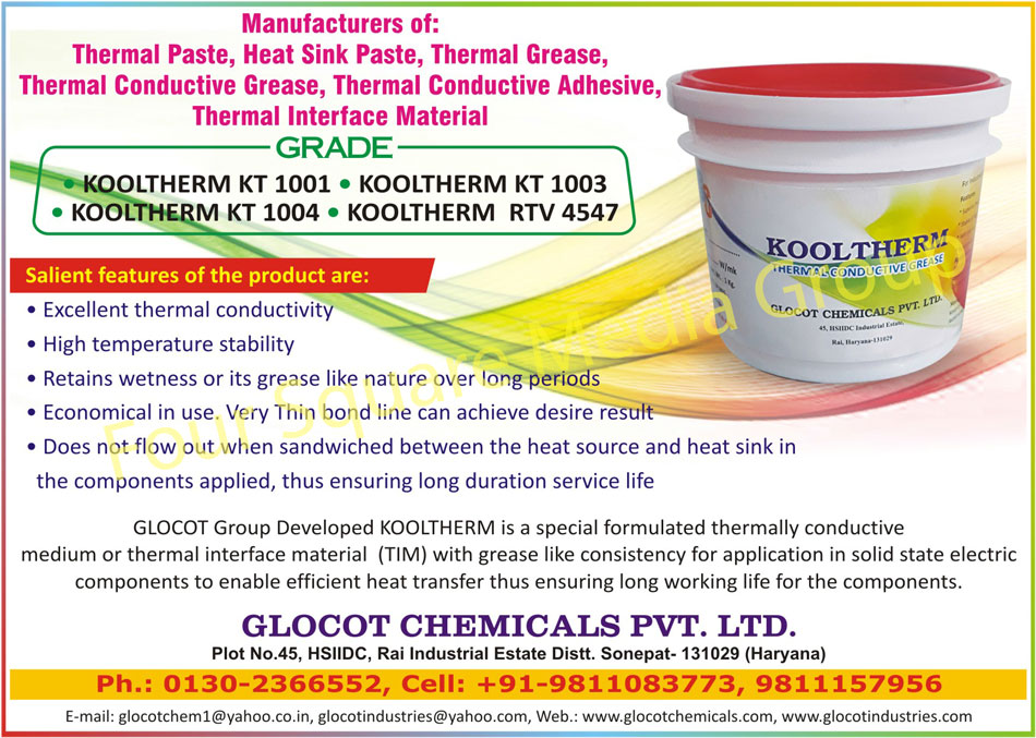 Thermal Paste, Heat Sink Paste, Thermal Grease, Thermal Conductive Grease, Thermal Conductive Adhesives, Thermal Interface Materials