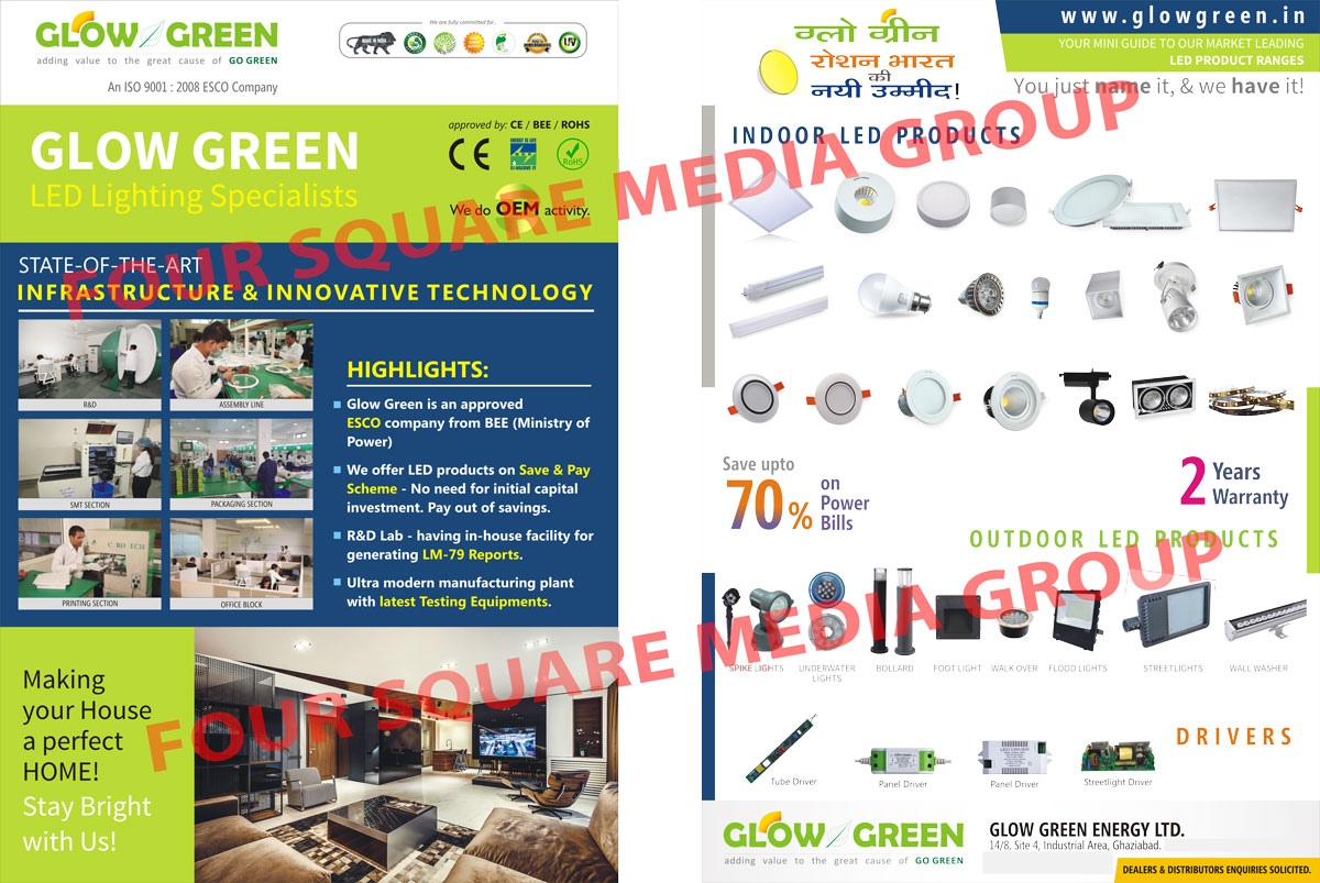 Led Lights, Led Products, Indoor Led Products, Indoor Led Lights, Outdoor Led Products, Outdoor Led Lights, Spike Lights, Under Water Lights, Underwater Lights, Bollards, Foot Lights, Walk Over Lights, Flood Lights, Street Lights, Wall Washers, Led Light Accessories, Led Light Housings, Street Light Housings, Flood Light Housings, Down Light MCPCB, Street Light MCPCB, Flood Light MCPCB, Tube Light Drivers, Panel Drivers, Street Light Drivers