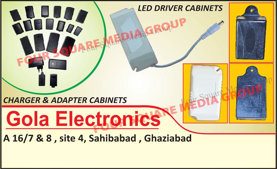 Led Driver Cabinets, Charger Cabinets, Adapter Cabinets