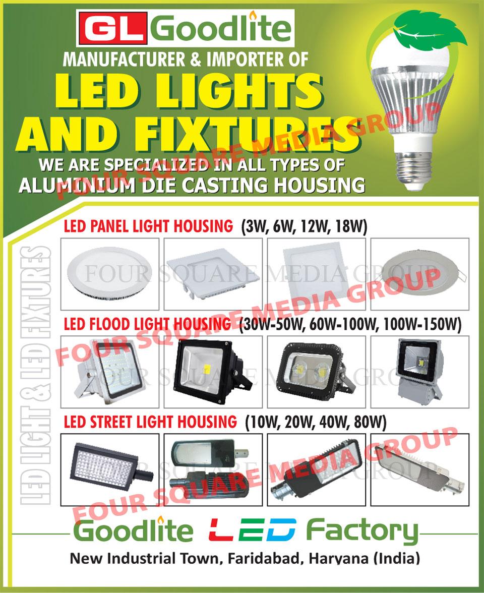 Led Fixtures, Aluminium Die Casing Housing, Led Light Housings, Led Panel Light Housing, Led Flood Light Housing, Led Street Light Housing, Led Lights