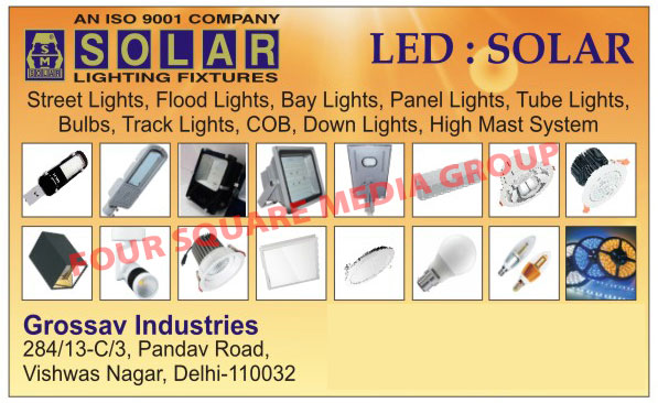 Led Lights, Led Street Lights, Led Bay Lights, Led Flood Lights, Led Panel Lights, Surface Panel Lights, Led Tube Lights, Led Battens, Led Bulbs, Solar Lighting Fixtures