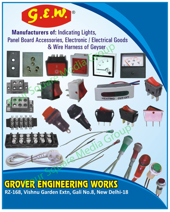 Grover Engineering Works, New Delhi, Manufacturer of - Indicating ...