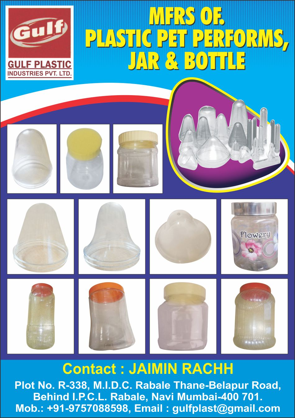 Plastic Pet Preforms, Pet Jars, Pet Bottles