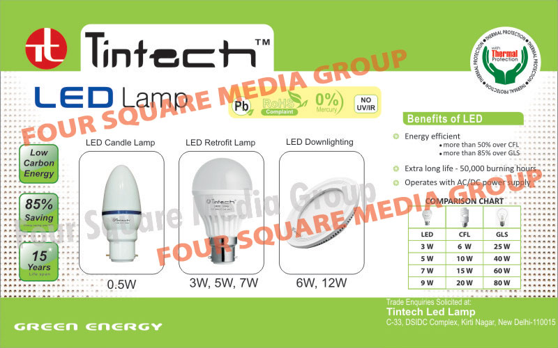 Led Lamps,CFL Inverters, Voltage Stabilizer, Power Inverters, Electric Inverters, AC Stabilizer, Fridge Stabilizers