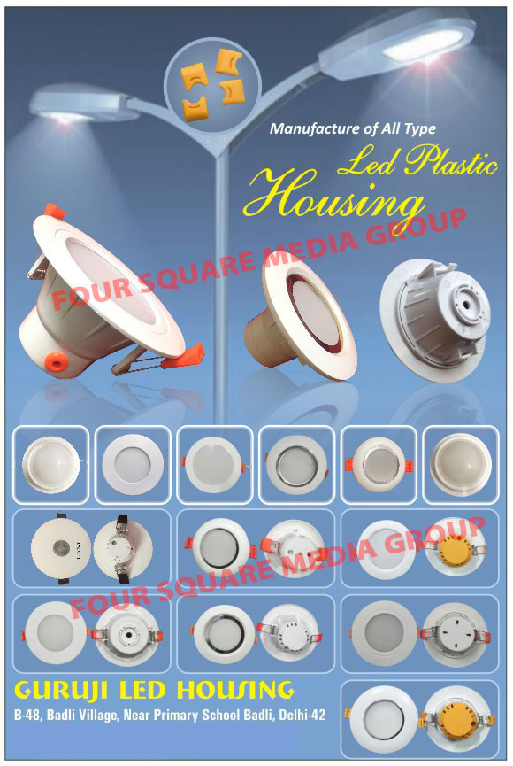 Led Housings, Led Light Housings, Plastic Led Housings, Led Plastic Housings