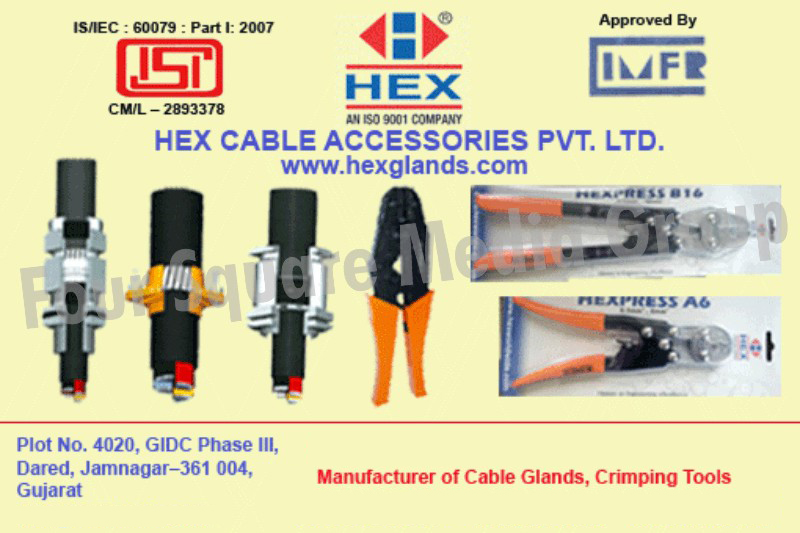 Cable Glands, Crimping Tools