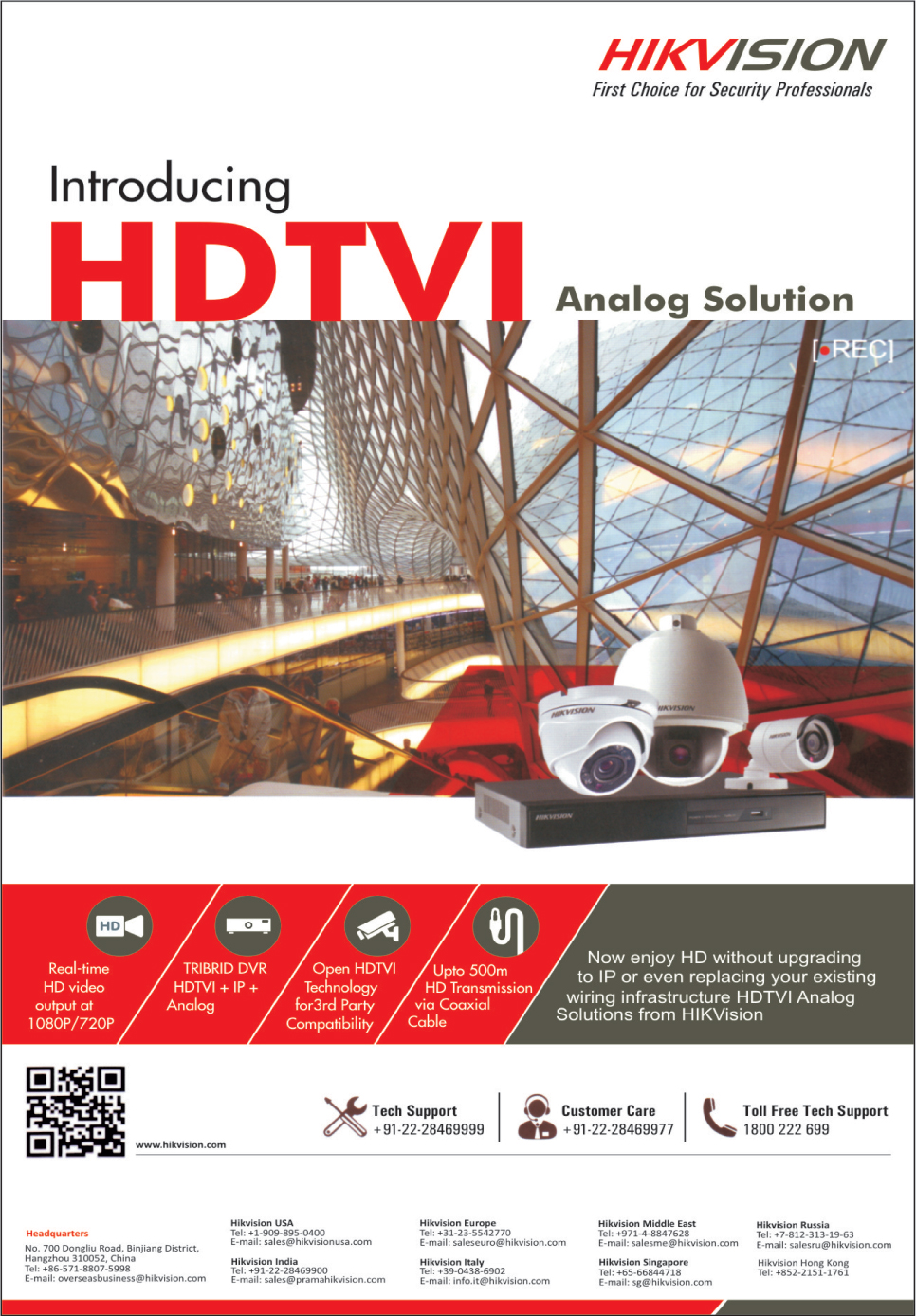 HDTVI Analog Solutions