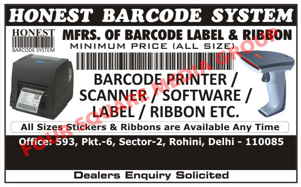 Barcode Printer, Barcode Scanner, Barcode Solutions, Barcode Label, Barcode Ribbon, Stickers, Ribbons, Barcode Software