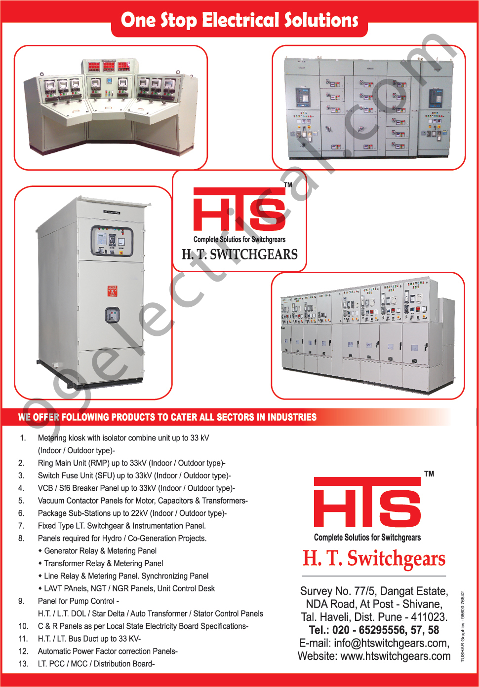 Switchgear Solutions Ring Main Units Line Relays H T