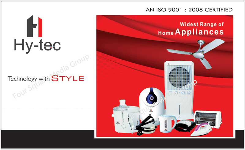 Home Appliances, Air Coolers, Ceiling Fans, Storage Water Geysers, Irons, Halogen Heaters, Atta Maker, Chapati Makers, Roti Maker, Flour Makers, Juicers, Kettles, Toasters