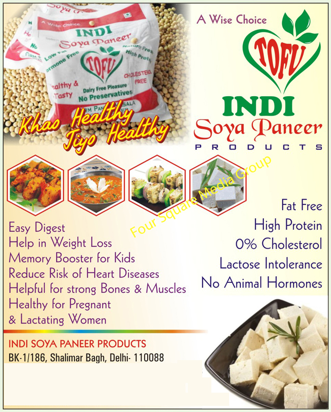 Soya Paneer Products