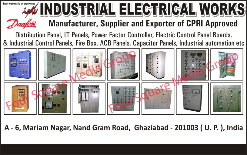Distribution Panel, LT Panels, Power Factor Controller, Electric Control Panel Boards, Industrial Control Panels,  Fire Box, Acb Panels, Capacitor Panels, Industrial Automation,