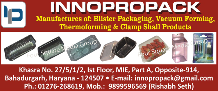 Blister Packagings, Vacuum Forings, Thermoformings, Clamp Shall Products