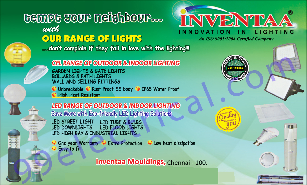 Outdoor Lights, Indoor Light, LED Light Solutions, Led lights, Led Street Lights, Led Down Lights, Led Flood Lights, Led High Bay Lights, Led Industrial Lights, CFL Ceiling Fittings, CFL Path Lights, CFL Gate Lights, CFL Garden Lights, CFL Bollard Lights,Electrical Items, Lightings, Electrical Products, Garden Lights, Bollards Lights, Path Lights, Wall Fitting, Ceiling Fittings, Led Tube, Led Bulbs