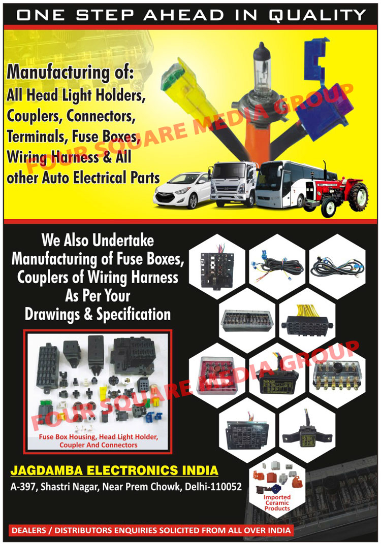 Headlight Holders Head Light Automotive Fuse Boxes Box Ads Couplers