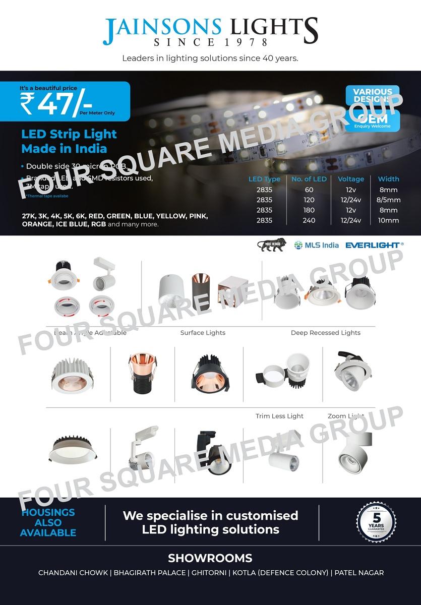 Led Products, SMD Lights, Led Panels, Led Zoom Lights, Led Track Lights, COB Concealed, Led Strip Lights