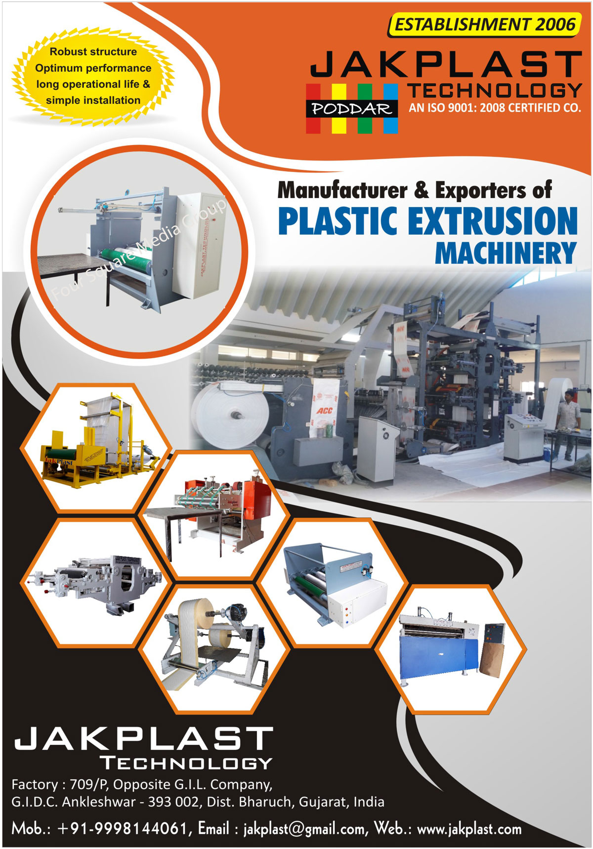 Plastic Extrusion Machinery, Plastic Extrusion Machines