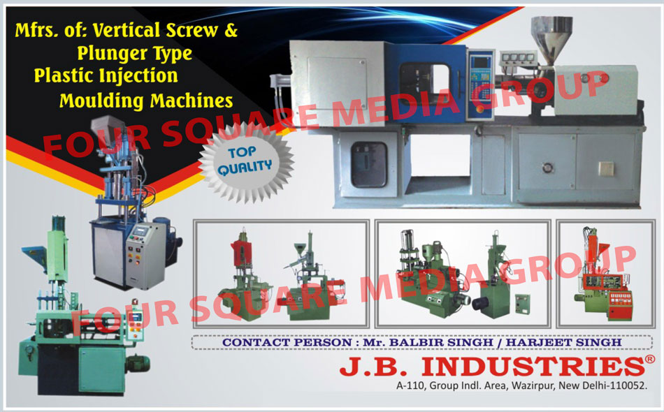 Plastic Injection Moulding Machines, Insert Moulding Machines, PLC Controlled Horizontal Machines, Plungar Moulding Machines, Die Casting Vertical Moulding Machines, Screw Locking Moulding Machines, Screw Toggle Moulding Machines, MIcroprocessor Controlled Machines, PLC Controlled Insert Moulding Machines, Vertical Screw Locking Direct Cylinder Plastic Moulding Machines, PLC Controlled Microprocessor Based Horizontal Plastic Injection Machines, Vertical Auto Injection Plunger Type Plastic Moulding Machines, Vertical Screw Locking Direct Cylinder Plastic Moulding Machine, Vertical Screw Type Plastic Injection Moulding Machine, Plunger Type Plastic Injection Moulding Machines,
