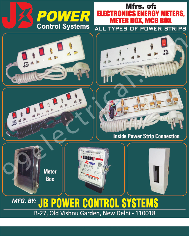 Electronic Energy Meters | Electronic Meter Boxes | MCB Boxes ...