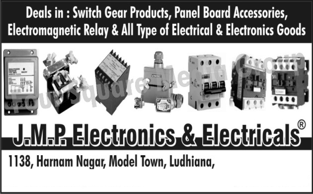 Switchgear Products, Panel Board Accessories, Electromagnetic Relays, Electrical Goods, Electronics Goods,