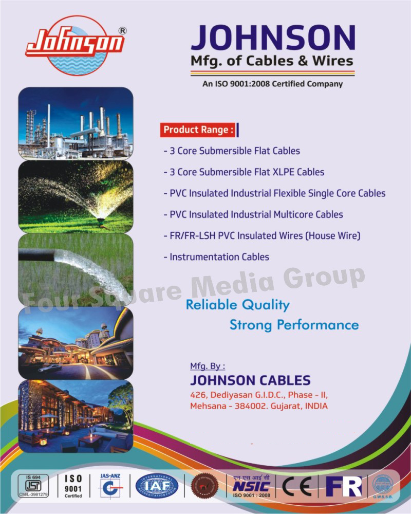3 Core Submersible Flat Cables, Three Core Submersible Flat Cables, 3 Core Submersible Flat XLPE Cables, Three Core Submersible Flat XLPE Cables, Industrial Flexible PVC Insulated Single Core Cables, PVC Insulated Industrial Flexible Single Core Cables, PVC Insulated Industrial Multicore Cables, Industrial PVC Insulated Multicore Cables, Instrumentation Cables, FR PVC Insulated Wires, FR LSH PVC Insulated Wires
