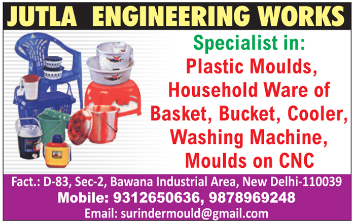 Plastic Moulds, Plastic Basket Moulds, Plastic Bucket Moulds, Plastic Cooler Moulds, Plastic Washing Machine Moulds