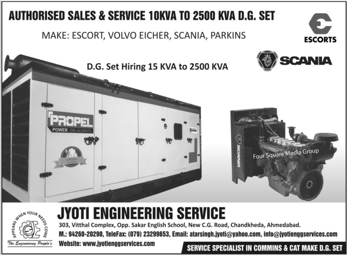 DG Sets, Diesel Generators