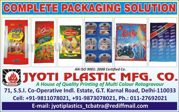 Multi Colour Rotogravure Printing Services