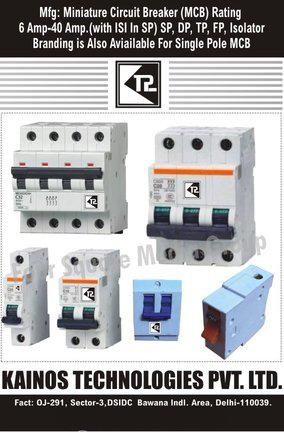 MCB, Miniature Circuit Breakers