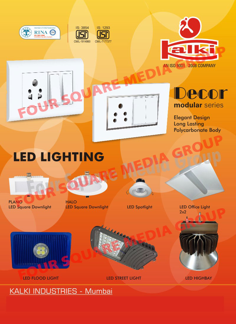 Led Lights, Led Down Lights, Led Panel Lights, Led Spot Lights, Led High Bay Lights, Led Street Lights, Led Flood Lights, Switches, Electrical Switches, Lighting Luminaires, Sockets, Strip Lights, Electrical Accessories, Led Office Lights