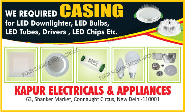 Led Downlighters, Led Bulbs, Led Tubes, Led Drivers, Led Chips