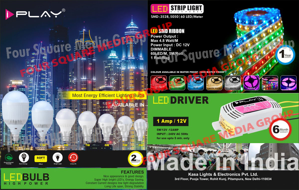 Led Strip Lights, Led Drivers, Led Smd Ribbons, Led Bulbs