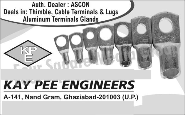 Thimbles, Cable Terminals, Cable Lugs, Aluminium Terminal Glands